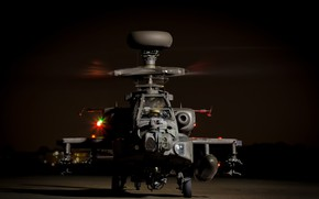 Picture weapons, helicopter, Apache