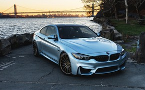 Wallpaper BMW, Blue, F82, Sight
