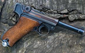 Picture macro, gun, Luger, 9 mm, 1939- 42