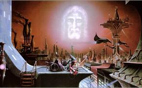 Picture Rodney Matthews, Dark Reality, Be Watchful