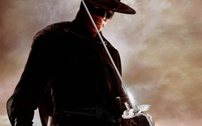 Picture hero, actor, male, sword, the Spaniard, Antonio Banderas, swordsman, honor, The Mask of Zorro, Alejandro …