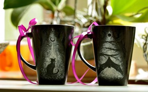 Picture tape, Cup, cups