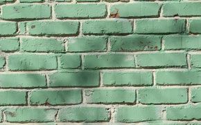 Picture wall, color, bricks, texture