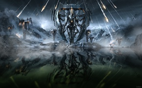 Picture Trivium, Heavy Metal, Krakaos, Vengeance Falls