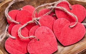 Picture love, romance, heart, hearts, love, heart, wood, romantic, Valentines, handmade