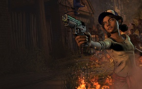Picture Telltale Games, Clementine, Clementine, The Walking Dead: Season Three