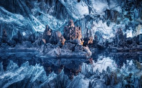 Picture nature, color, cave