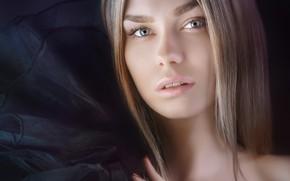 Picture look, face, hair, portrait, Maria, Alexander Drobkov-Light