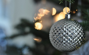 Picture background, toy, new year, silver