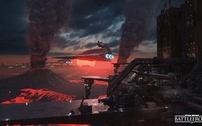 Picture game, Star Destroyer, Star Destroyer, Electronic Arts, DICE, star wars battlefront, Sullust, Sullust
