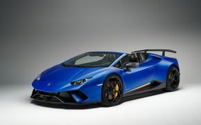 Picture Lamborghini, Spyder, 2018, Performante, Huracan
