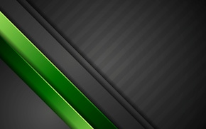 Wallpaper green, vector, abstract, black, design, art, background, material