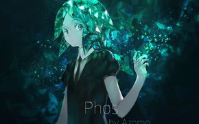 Picture girl, Azomo, Phos