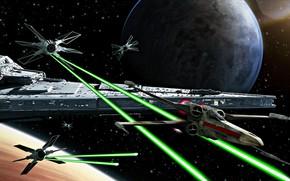 Picture Star wars, Star wars, Joseph Diaz, The Ride, Tie Fighter evolution