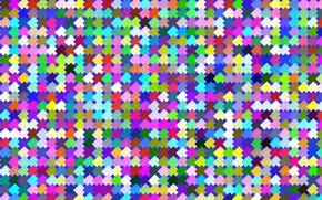 Picture Tekstura, squares, Colored