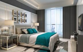 Picture room, furniture, bedroom, the room, BEDROOM