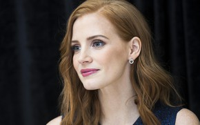 Picture portrait, actress, Jessica Chastain