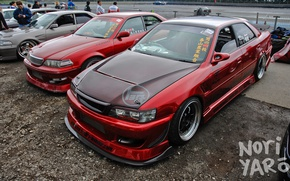 Picture machine, red, tuning, red, Toyota, tuning, Chaser, Cresta, Toyota Chaser, Toyota Cresta