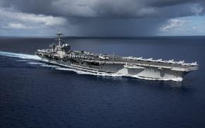 Picture aircraft carrier, USS Carl Vinson, CVN 70