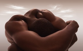 Wallpaper the body as a journey, Carl Warner, Carl Warner, naked body, bodily landscapes, the Nude, ...