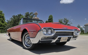 Picture Roadster, Ford, Convertible, 1962, Thunderbird