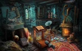 Picture games illustration, HOPA, ticathrow headogun