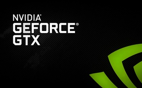 Wallpaper gtx logo, nvidia, geforce