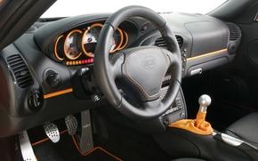 Picture 911, Porsche, the wheel, salon, dashboard