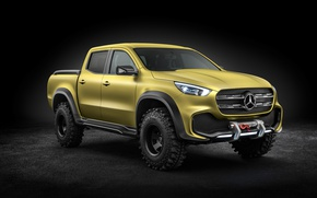 Wallpaper Mercedes, the concept car, SUV, Concept, 8k, X class, X Class, pickup, Pickup