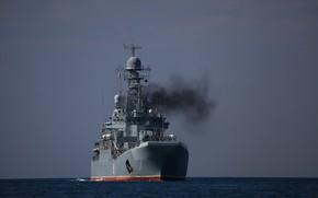 Picture the black sea, Azov, the project 775, BDK