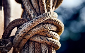 Picture node, rope, bokeh