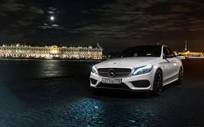 Picture car, machine, auto, bridge, city, fog, race, car, mercedes, sports car, car, need for speed, …