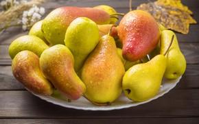 Picture Pear, Ripe, Delicious, Juicy