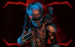Picture background, toy, predator, figurine, Predator, thing