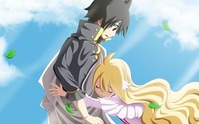 Picture anime, blonde, manga, japanese, Fairy Tail, Mavis, shodaime, mahou, Fairy Tail Zero, Fairy Tail 0, …
