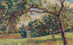 Picture picture, Landscape, impressionism, Arman Hyomin, Armand Guillaumin