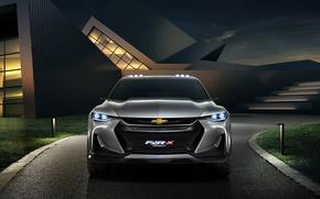 Picture car, Chevrolet, logo, Chevrolet Fnr X