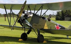 Wallpaper Polikarpov, Soviet multirole biplane, Polikarpov PO2, Po-2