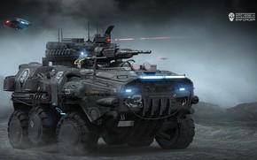 Wallpaper transport, weapons, APC-1232-A, Igor Sobolevsky