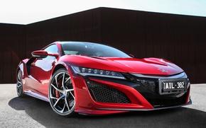 Picture supercar, Honda, Honda, NSX
