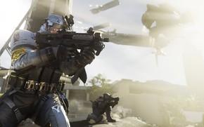 Picture gun, game, weapon, Call Of Duty, suit, uniform, seifuku, Call Of Duty Infinite Warfare