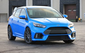 Picture Ford, Hot, Focus, Blue, Hatch, 2017