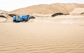 Picture Sand, Truck, Race, Master, Hills, Russia, Kamaz, Rally, Dakar, Dakar, Rally, KAMAZ, The roads, 502, …