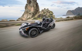 Picture beautiful, comfort, hi-tech, Polaris, Slingshot, technology, sporty, tricycle, 020