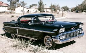 Picture style, retro, black, Chevrolet, classic