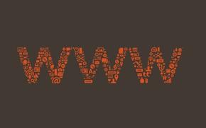 Picture logo, internet, www, web