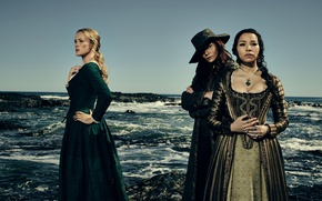 Picture sea, stones, girls, coast, the series, TV Series, Black Sails, Black sails, Hannah New, Jessica …