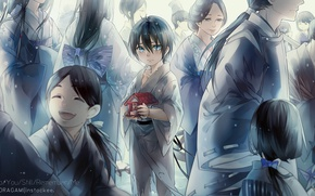 Picture people, anime, art, A Homeless God, Noragami, Yato