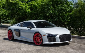 Wallpaper audi, wheels, v10, adv1