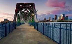 Picture bridge, USA, Arkansas, Little Rock, Arkansas